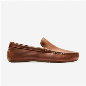 Cole Haan Driving Mocs never worn brown leather